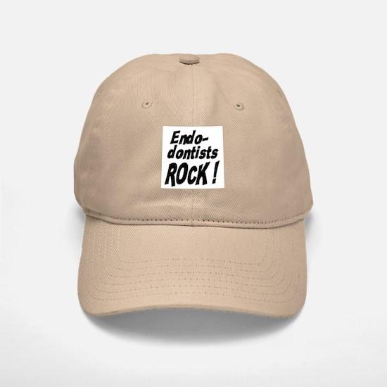 Endodontists Rock ! Baseball Baseball Cap