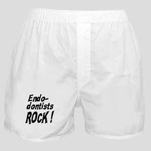 Endodontists Rock ! Boxer Shorts