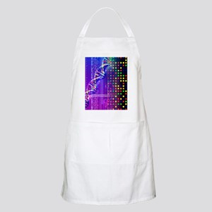 DNA microarray and double helix Apron