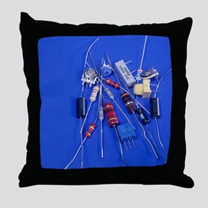 Resistors Throw Pillow
