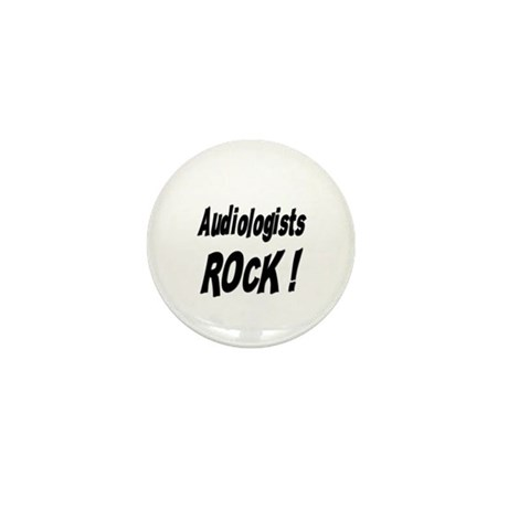 Audiologists Rock ! Mini Button (10 pack)