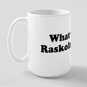 Raskolnikov Large Mug