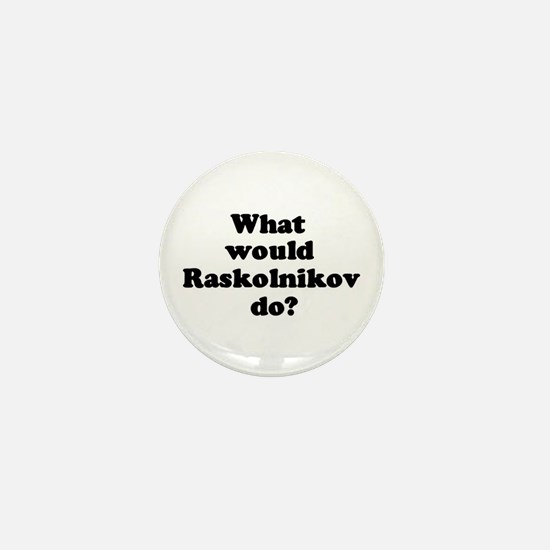 Raskolnikov Mini Button