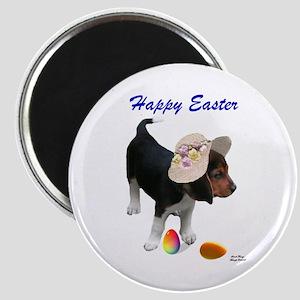 Easter Beagle Magnet