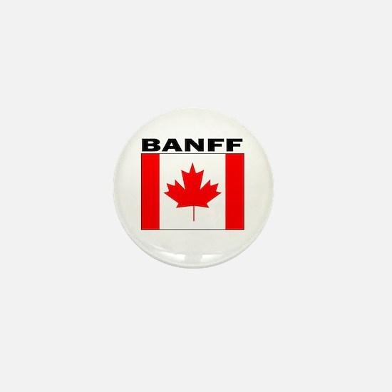 Cute Banff Mini Button