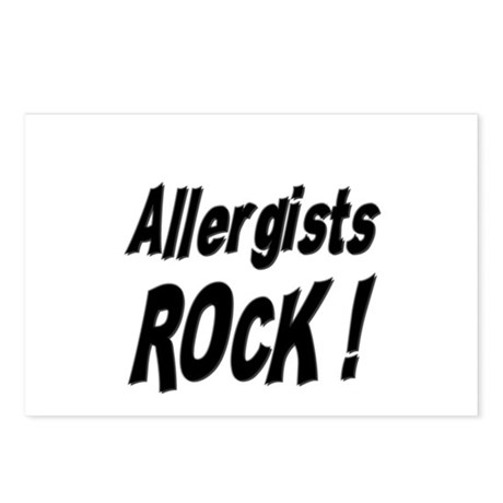 Allergists Rock ! Postcards (Package of 8)