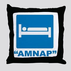 AMNAP Throw Pillow
