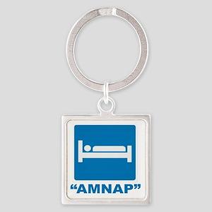 AMNAP Square Keychain