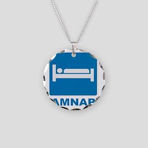 AMNAP Necklace Circle Charm
