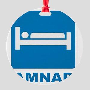 AMNAP Round Ornament