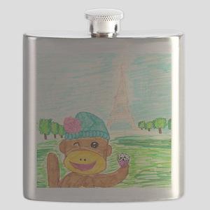 Sweet Sockmonkey  Flask