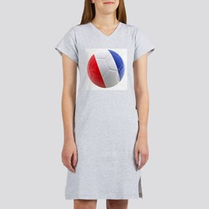 France world cup ball Women's Nightshirt