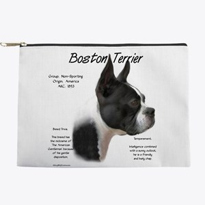 Boston Terrier Makeup Pouch
