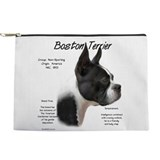 Boston terrier Makeup Bags