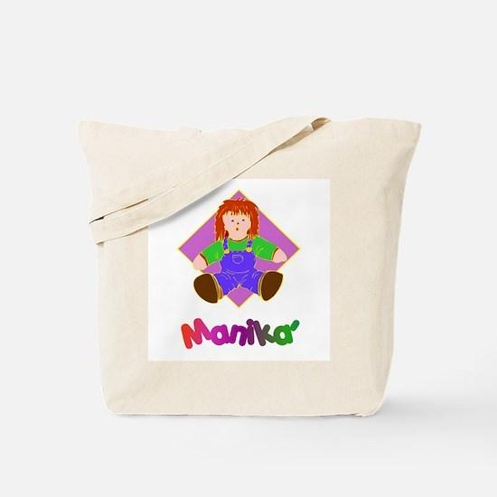 Manika' (Doll) Gifts Tote Bag