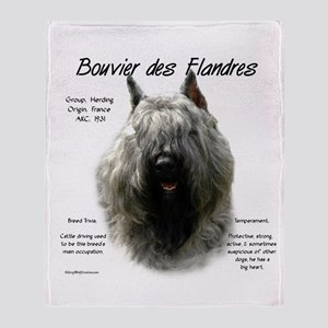 Bouvier des Flandres Throw Blanket