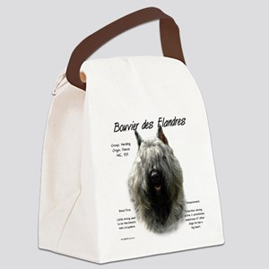 Bouvier des Flandres Canvas Lunch Bag