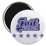 Foil Fencing Magnet