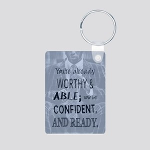 Black Man Confidence Keychains