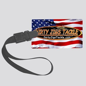 Dirty Jigs American Made Large Luggage Tag