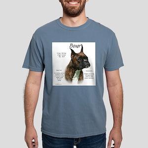 Boxer (brindle) Mens Comfort Colors Shirt