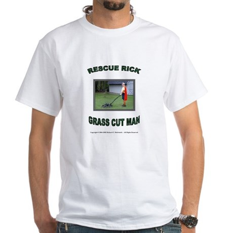Yard Safety Awareness T-Shirt (white)