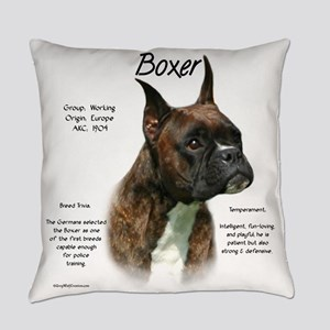 Boxer (brindle) Everyday Pillow