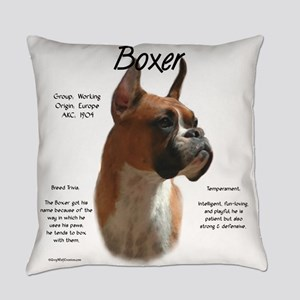 Boxer (fawn) Everyday Pillow
