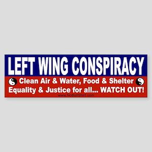 Left Wing Bumper Sticker
