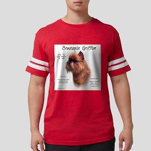 Brussels Griffon (rough) Mens Football Shirt