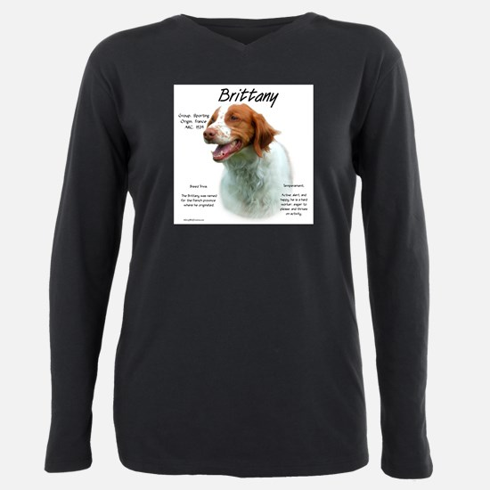 Brittany Plus Size Long Sleeve Tee