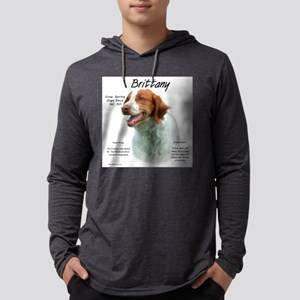 Brittany Mens Hooded Shirt