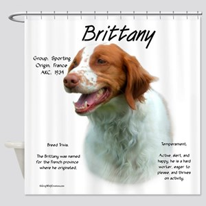 Brittany Shower Curtain