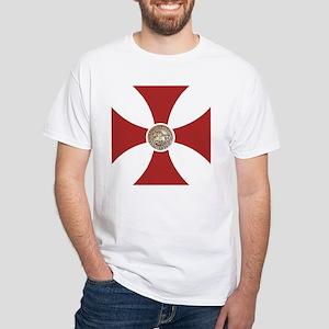 Pattee & Seal White T-Shirt