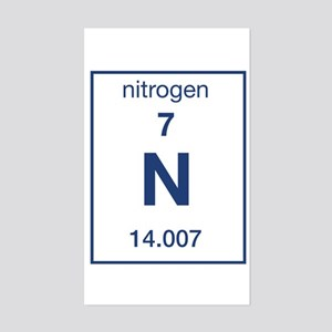 Nitrogen Rectangle Sticker