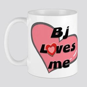 bj loves me  Mug