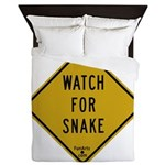 Watch for snake Queen Duvet
