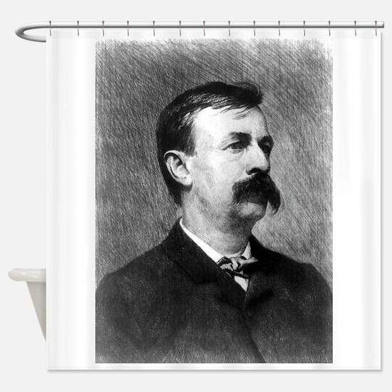 Ed. Bellamy - W H W Bicknell - 1890 Shower Curtain