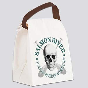 Salmon River Canvas Lunch Bag