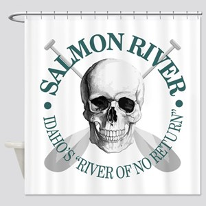 Salmon River Shower Curtain