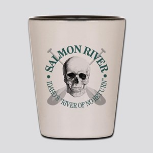 Salmon River Shot Glass