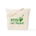 Irish & Jewish Aaron Go Bragh Tote Bag