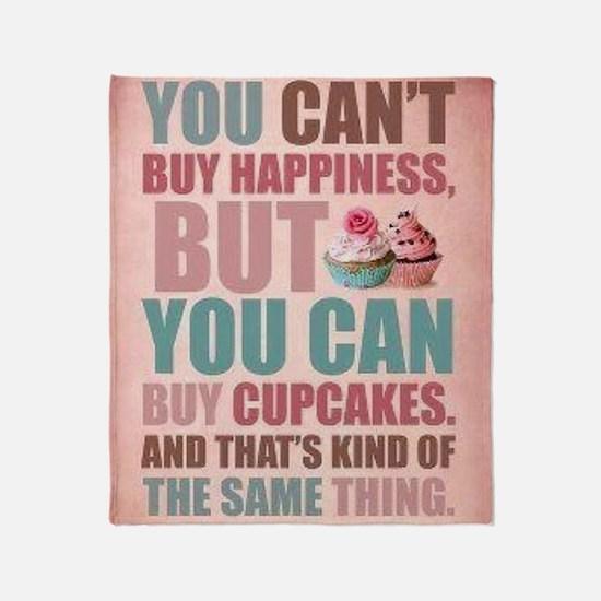 Cupcake Wear Throw Blanket