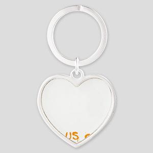 Halloween Heart Keychain