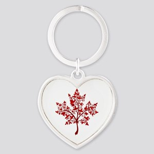 Canadian Maple Leaf Tree Keychains