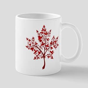 Canadian Maple Leaf Tree Mugs