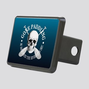 Gone Paddling -Skull Hitch Cover