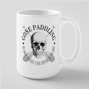 Gone Paddling -Skull Mugs