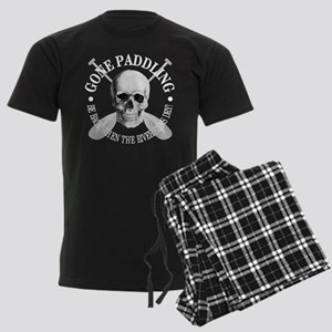 Gone Paddling -Skull Pajamas