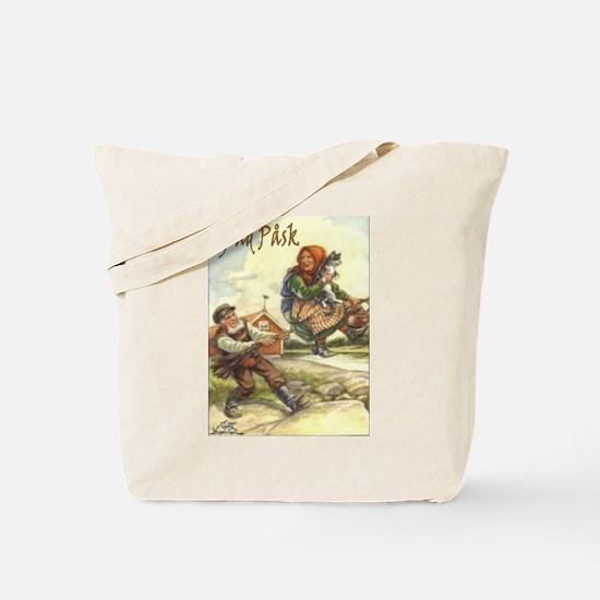 Glad Påsk 2 Tote Bag